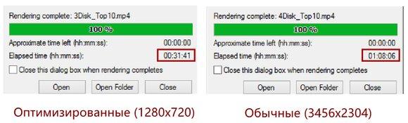 Результат оптимизации